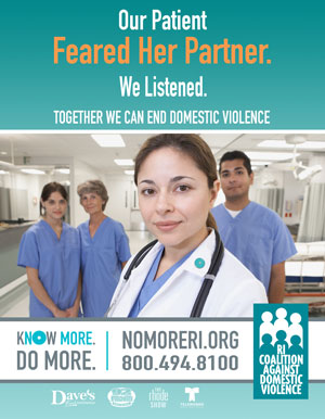 DVAM 2014 Poster English - Healthcare