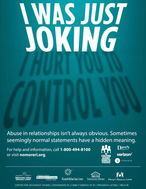 DVAM 2018 Poster I Was Just Joking