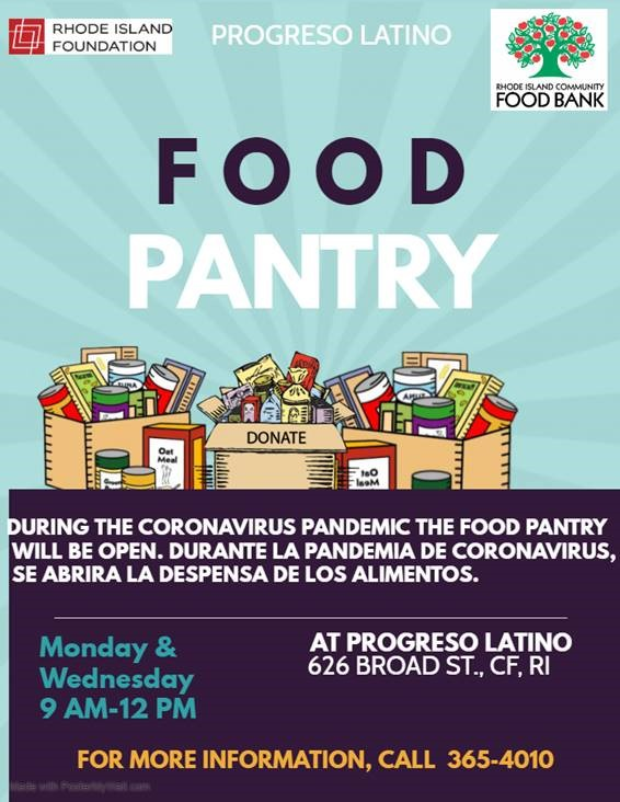 Progreso Latino food pantry DVPF 2